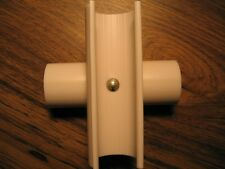 """4"""" SNAP CROSS for 1/2"""" EMT/PVC Pipe 4pk- secure cross sections of EMT & PVC #260"""