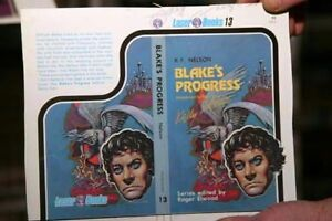 KELLY FREAS LASER #13 BOOK COVER PROOF SIGNED BLAKE/'S PROGRESS BY R.F NELSON
