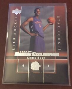 2003-04-Upper-Deck-Rookie-Exclusives-Chris-Bosh-RC-Raptors