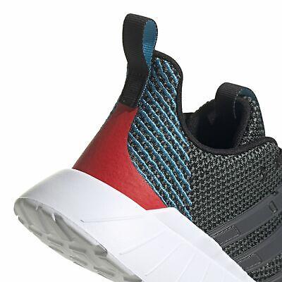 Adidas Core Bambini Per Il Tempo Libero Scarpa Sneaker Questar Flow K Nero Grigio Rosso-mostra Il Titolo Originale