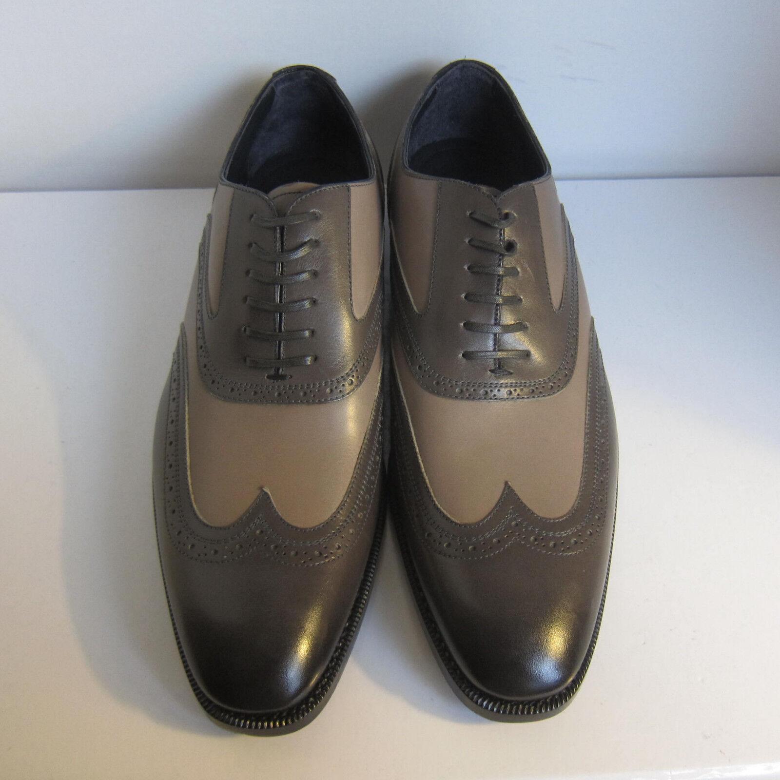 best website d0b95 05e3d ... C-1370125 Neuf ErHommes egildo Zegna Cuir Oxford Chaussures Taille Us  Us Us 11D Marqué