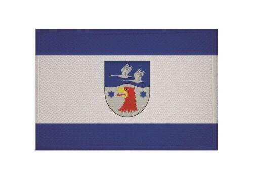 Ricamate Landkreis Havel Paese Bandiera Bandiera aufbügler Patch 9 x 6 cm