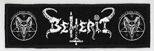 BEHERIT SUPERSTRIP PATCH / SPEED-THRASH-BLACK-DEATH METAL