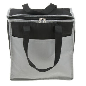 2d13f98b55b3 Details about 15L Lunch Box Insulated Lunch Bag Cooler Tote Bag Men Women  Camping Picnic
