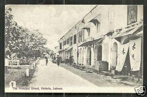 Labuan Victoria Principal Street Borneo Malaysia ca 1906