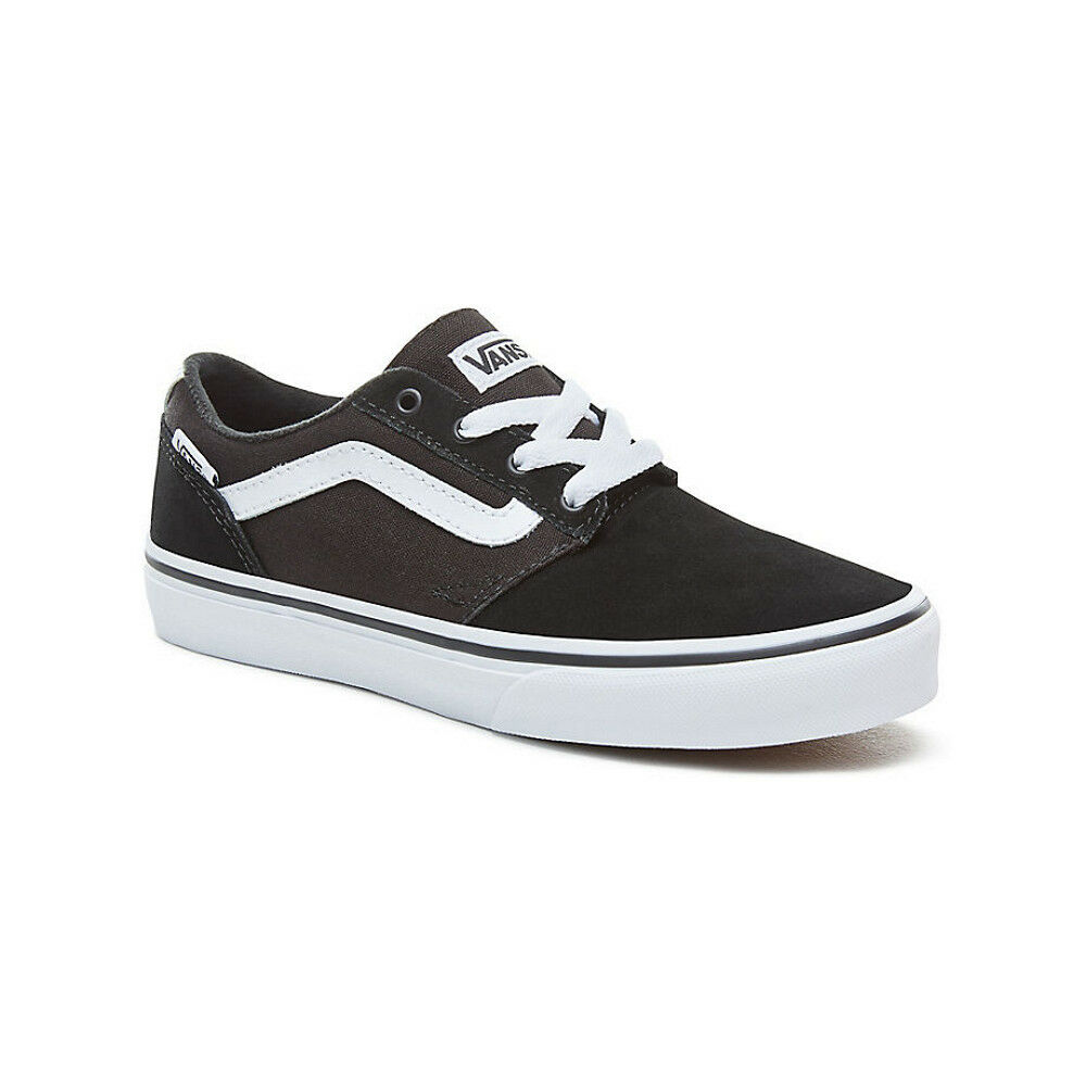 VANS NEW Mens Chapman Stripe Shoes Black / White BNWT