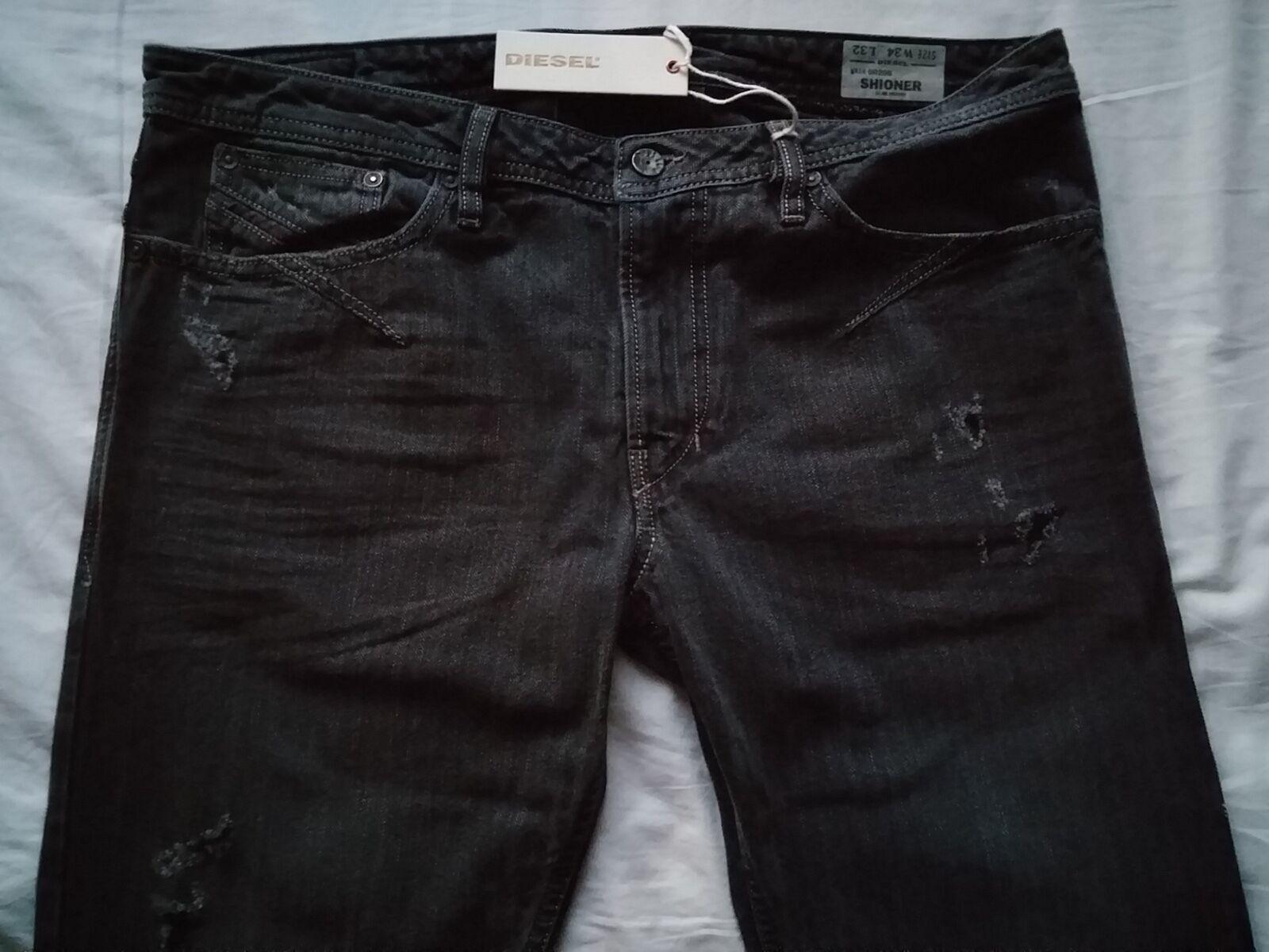 Diesel SHIONER 0R20B Slim-Skinny Men's Denim Jeans Trousers W34 L32