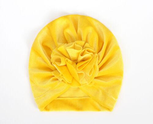 Newborn Baby Turban Knot Head Wrap Infant Beanie Hat Winter Warm Cap Headband UK
