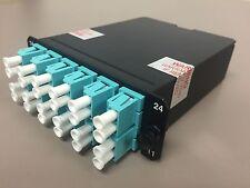 FCX-24-10Y Panduit 24 Fiber Cassette OM3 LC to MPO