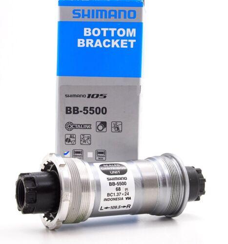 Shimano 105 Octalink Cartridge Bottom Bracket BB-5500 68 x 109.5mm New In Box