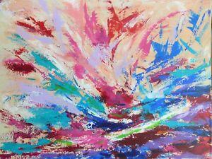 TABLEAU-ABSTRAIT-art-contemporain-peinture-paysage-signe-HZEN-034-MISTRAL-034-61x46