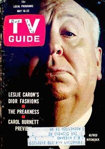 TV Guide 1964 Alfred Hitchcock #581 Eleanor Roosevelt Eisenhower Carol Burnett