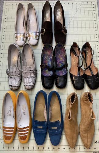 Lot of 8 1960's & 1970's Vintage Shoes - Wholesale