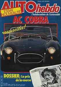 AUTO-HEBDO-n-406-du-9-Fevrier-1984-MONTE-CARLO-AC-COBRA