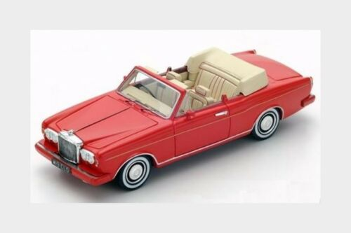 Bentley Continental Cabriolet 1984 Red SPARK 1:43 S3824