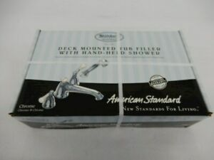American-Standard-Deck-Mounted-Tub-Filler-with-Hand-Held-Shower-2981-Chrome
