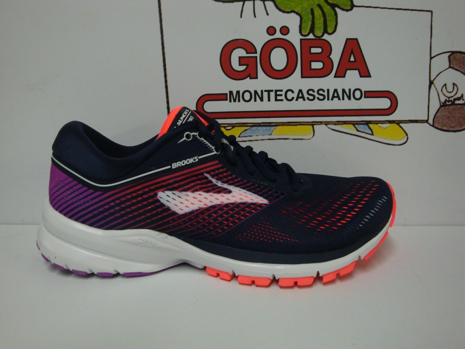 BROOKS LAUNCH 5 daSie navy coral lila