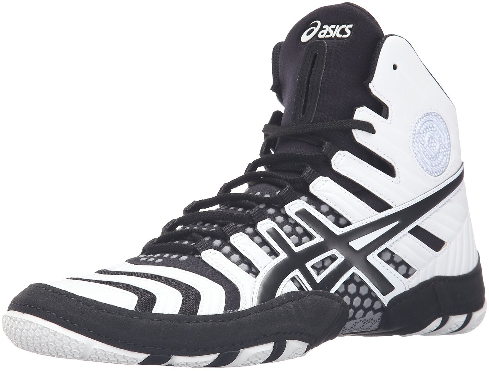 ASICS Men's Dan Gable Ultimate Ultimate Ultimate 4 Wrestling Shoe White/Black/Aluminum 9 M US New 2c28c8