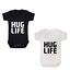HUG LIFE BABY GROW RAP HIP HOP TUPAC 2PAC