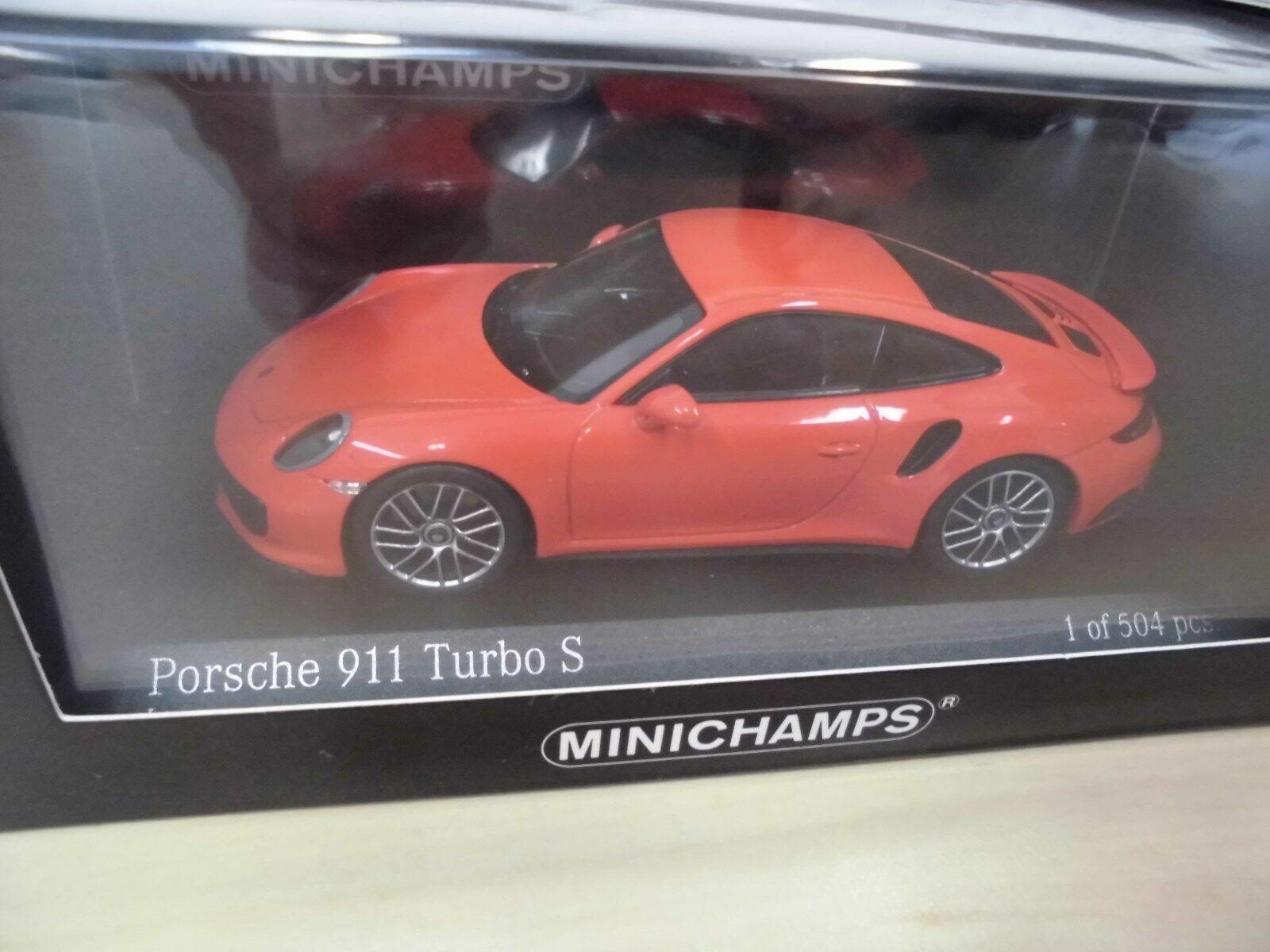 precios razonables Porsche 911 Turbo S (991 II) - - - lava-naranja-Minichamps 410 067171 - 1 43  Más asequible