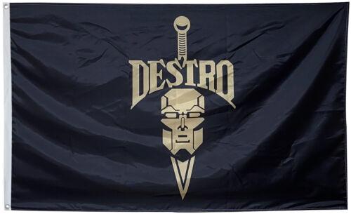 Joe Cobra 3x5ft Flag Banner US shipper Destro Iron Grenadiers G.I