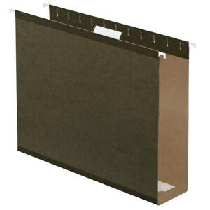 "Office Depot Brand Box Bottom Hanging File Folders, 2"", Legal Size, 25-Pk"