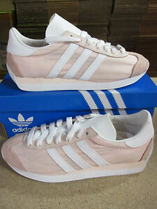 the latest ca7dd f8961 Image is loading Adidas-Originals-Country-OG-Womens-S32200 -Trainers-Sneakers-