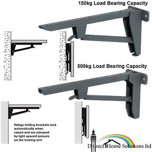 Hafele Hebgo Heavy Light Duty Steel Folding Bracket