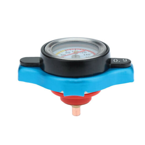 Water Temp Gauge Small Head 0.9BAR for Cars SUV Car Thermost Radiator Cap Cover