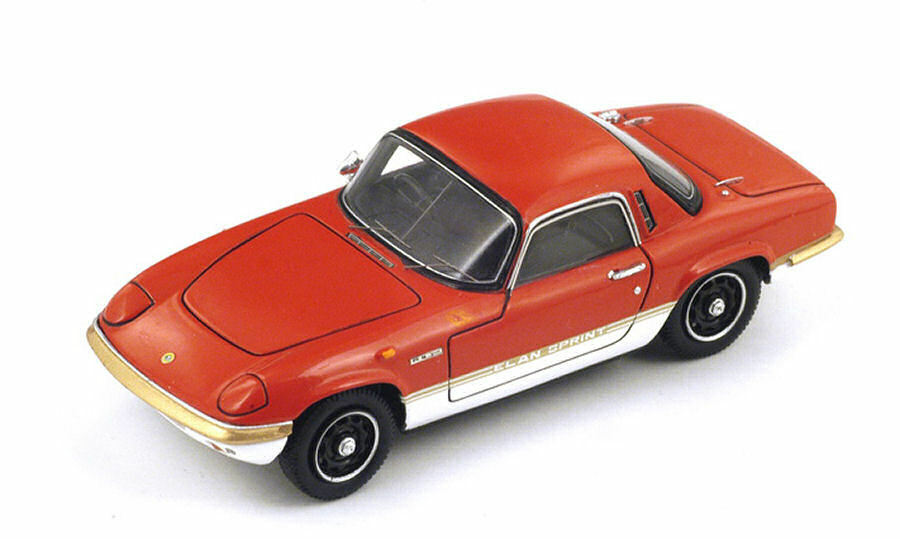 Lotus Elan sprint fhc 1971 rosso 1 43 Model s2228 Spark Model