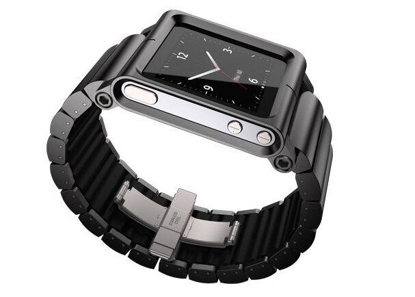 Lunatik Multi Touch Silicon Wrist Watch Band For Ipod Nano 6 Th Generation Gray For Sale Online Ebay