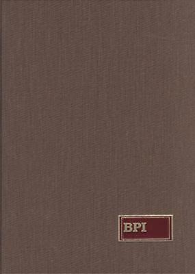 Bookman's Price Index by McGrath, Daniel F.