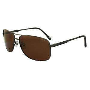 Image is loading Polaroid-Sunglasses-P4409-BC5-HE-Gunmetal-Copper-Polarized 061585e2b4