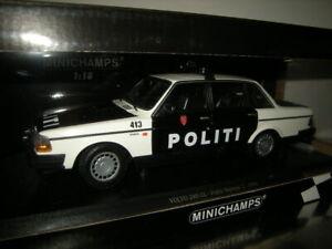 1-18-Minichamps-volvo-240-GL-politi-Norway-2-1986-Limited-n-155171496-en-OVP