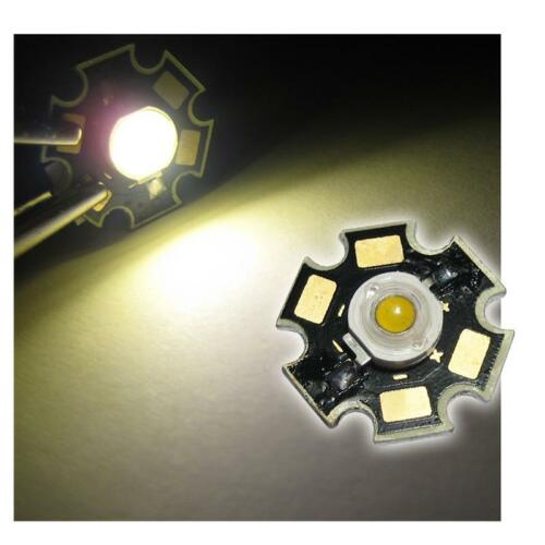 Haute performance LED puce a carte 3w blanc chaud power