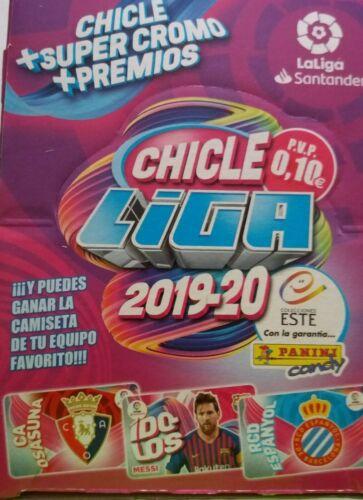 CHICLES DE LA LIGA ESTE 2019//2020 COLECCIÓN COMPLETA 60 CROMOS SIN LOS QUIEN ES