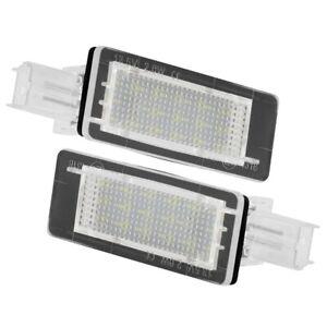 Car LED License Plate Light for Dacia Duster 10-15 I2S2