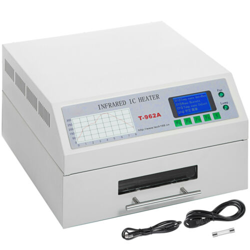 T-962A 1500W Infrared SMD BGA IC Heater Reflow Oven Soldering Area 300x320mm