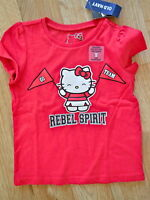 Mississippi Rebels (girls) Size 12-18 Mo S/s Shirt (hello Kitty)