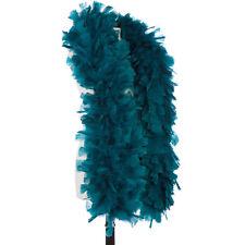 Teal 150 Gram Turkey Feather Boas - Turkey Ruff - Halloween Costumes