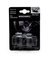 1:12 Minichamps Bike Stand (Medium&Small) GP125&GP250 Set 2Pcs 312100011 NEW