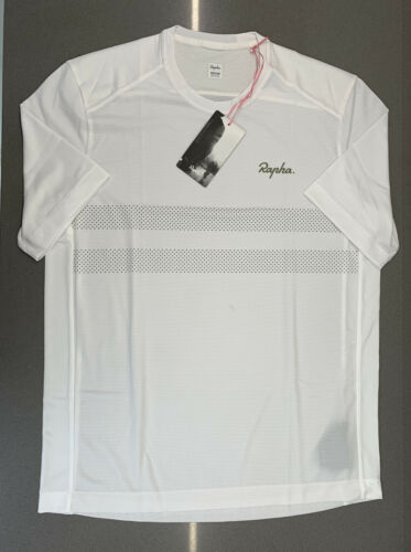 Rapha Men/'s Explore Technical T-Shirt White Size Medium Brand New With Tag
