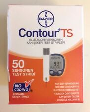 SEALED Bayer Contour TS Diabetic Test Strips BRAND NEW 50/Strips Exp 03/2018 US