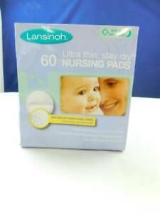 Lansinoh-Stilleinlagen-Stillen-Baby-Ernaehrung-Zubehoer-60Stk-weiss