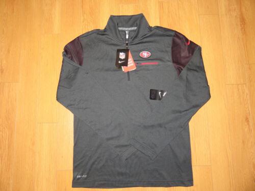 Retail $85.00 NWT Men/'s Nike Elite Coaches NFL49ers Pullover