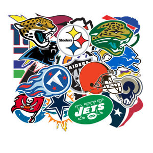 32-NFL-Teams-Logo-Decal-Vinyl-Stickers-for-Truck-Skateboard-Luggage-Laptop-Party