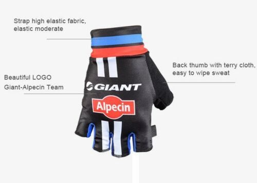 Winter Team GIANT Alpecin Cycling Gloves Bicycle Bike Sports Riding Cycle Gloves