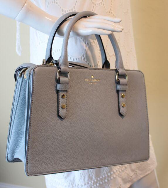 ecc9ce351a Kate Spade Lise Mulberry Street Leather Satchel Purse Handbag Lakesedge