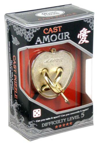 Difficulté Expert Huzzle Cast amour Hanayama Puzzle-Niveau 5
