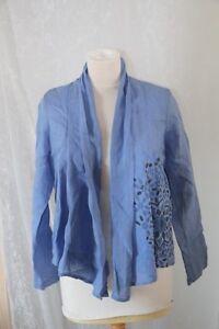 En Veste Neuf Diplodocus 36 Bleu Original Marrakech Lin Taille PU4pRq